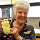Liala Blackie (82), of Dunedin, is hoping to win enough money in tonight's Big Wednesday Lotto...