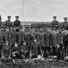 No 4 Company, Post and Telegraph Engineers, at a field day in Dunedin on October 20. — Otago...