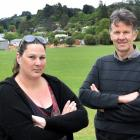 Residents of Frasers Rd, Dunedin,  Kirsty Beyer and Kerry Goodhew,  say the noise from the nearby...