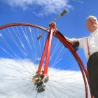 Oamaru Ordinary Cycle Club captain Graeme Simpson is ready for the 19th annual Penny-farthing and...