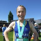 Timaru's Sam Wreford overcame sickness to win the Queenstown International Marathon in a record...