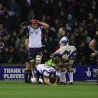 Scotland players react at full time during the International test match between Scotland and New...