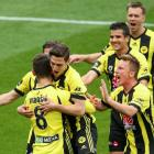 The Wellington Phoenix will now play the Western Sydney Wanderers at a later date. Photo: Getty...