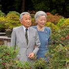 Japan's Emeror Akihito and his wife Empress Michiko. Photo: Reuters