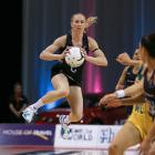 Former Silver Fern Laura Langman in action. Photo: Getty Images