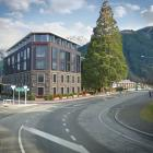 Auckland's Safari Group has applied for a resource consent for this five-storey hotel and...