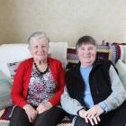 Mary Eliza­beth Dick (left) and Cecilia Curline have enjoyed a lifelong friendship. PHOTO: ELLA...