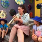 Dunedin Symphony Orchestra trumpeter and former Sawyers Bay School pupil Simone Arbuckle (19)...