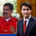 Venezuelan President Nicolas Maduro and Canadian Prime Minister Justin Trudeau. Photos: Reuters