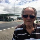 Gordon Rd resident Murray Bambery (84) is opposing the redevelopment of the BP service station...