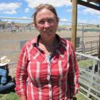 New Zealand Rodeo Cowboys Association secretary Dianna Bradshaw, at the recent Maniototo Rodeo....