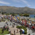 Action on Ardmore St during the main event in this year's Challenge Wanaka race on January 22. ...