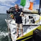 A year after he was towed into the city with a broken mast, Irish solo-sailor Enda O'Coineen is...