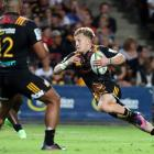 Damian McKenzie in action for the Chiefs against the Bulls in Hamilton during last year's Super...