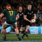 Brodie Retallick's last game of rugby was in the All blacks' 57-0 win over South Africa last...