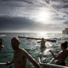 People cool off at the ocean pool at Bronte Beach in Sydney earlier this summer. Photo Getty