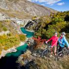 Good times on the Queenstown Trail.