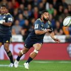 Highlanders first five-eighth Lima Sopoaga. Photo: Getty Images