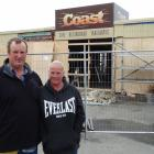 Wayne and Sarah Bugden outside their Kakanui business, Coast Cafe. Photos: Daniel Birchfield &amp...