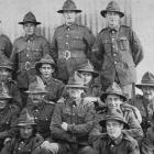 Otago soldiers at Sling Camp, England. — Otago Witness, 2.1.1918.