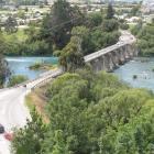 The Kawarau Falls bridge in 2011. Photo: ODT files
