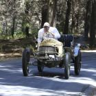 Allan Dippie, of Dunedin, races his 1907 Sizaire et Naudin at the Leadfoot Festival at Hahei, in...