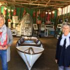 Wanaka artists Lynley Charteris (left) and Janet Malloch are two of the Central Otago artists who...
