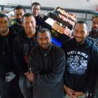 Workers from Fiji at Hintons in Alexandra are an excellent team, Mrs Sarah Hinton says. (From...