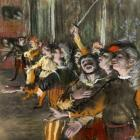 Les Choristes by Edgar Degas. Image: Wikicommons