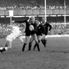 Gary Seear in action for the All Blacks against England at Twickenham in London. Photo Getty