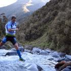 Sam Clark (Whakatane) navigates his way through Doreen Creek during the Longest Day at the...