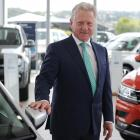Southern Motor Group managing director Ken Cummings in the new Volkswagen showroom. Photo:...