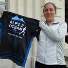 Cheryl Schneider, of Albury, New South Wales, is excited about the start of the Alps 2 Ocean...