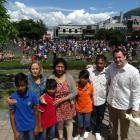 The Queenstown community, including Basket of Blessings Queenstown organiser Tam Schurmann ...