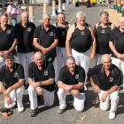 The New Zealand veteran axemen's team will be competing in three test series this weekend. Photo:...