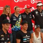 Several top pro triathletes  will compete in Challenge Wanaka today  including (clockwise from...