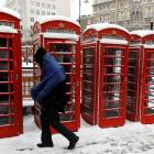 The snow is still piling up in Britain and other parts of Europe. Photo: Reuters