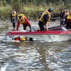 A submerged log tore through former All Black great Robbie Deans' jet boat. Photo: Wairaurahiri...