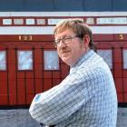 Otago Railway and Locomotive Society president Campbell Thomson says the society is ready to move...