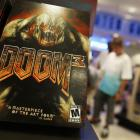 First-person shooter video game 'Doom 3' which is owned by ZeniMax Media Inc. Photo: Getty Images