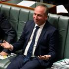 Former Australian Deputy PM Barnaby Joyce recently resigned his post. Photo: Getty Images