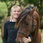 Maverick arrived with behavioural issues which Louisa Andrew says were largely sorted out by the ...