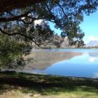 Lake Hayes has been declared safe for swimming cyanobacteria scum was found. Photo: ODT files
