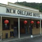 The New Orleans Hotel in Arrowtown. PHOTO: GUY WILLIAMS