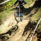 Max Caulton on the course. PHOTO: SUPPLIED