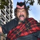Scottish comedian Bruce Fummey plans to cut loose on Shakespeare's Macbeth this week. Photo:...