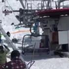 Ski lift malfunctions in Georgia. Photo: Instagram