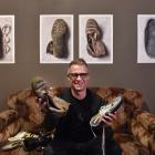 Dunedin photographer Alan Dove makes art from junk at his exhibition ``Dancing Crumpled Odd Pair'...