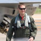 US Air Force F-16 pilot Richard Smeeding. PHOTO: SUPPLIED