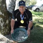 Stuart Ide will demonstrate speed gold-panning at the Wanaka A&P Show. Photo: Kerrie Waterworth